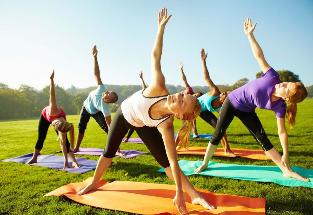 Host a yoga meetup